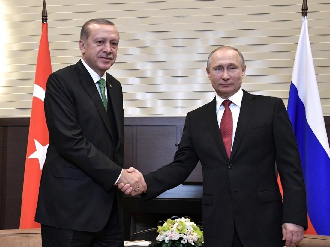 Путин и Эрдоган обсудили ситуацию в сирийских провинциях Дераа и Идлиб