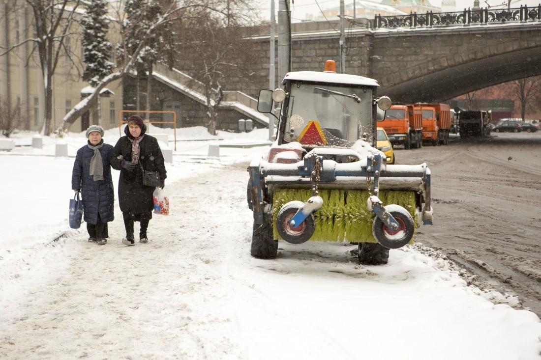ВГБУ «Гормост» поведали омасштабах ликвидации последствий снегопада намостах столицы