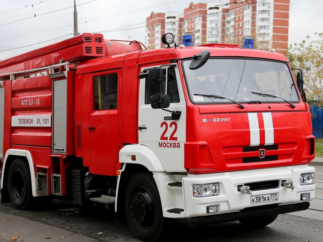 Пожарные устранили возгорание в помещении ресторана вцентральной части Москвы