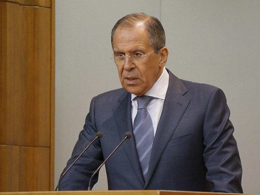 ИГ* нанесено окончательно иполное поражение вСирии, объявил Лавров