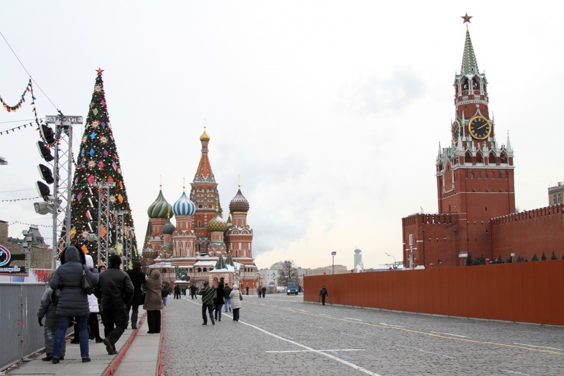 Число туристов в Москве возросло на 65% с 2010 года