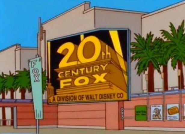 «Симпсоны» предсказали объединение Disney иFox еще 20 лет назад
