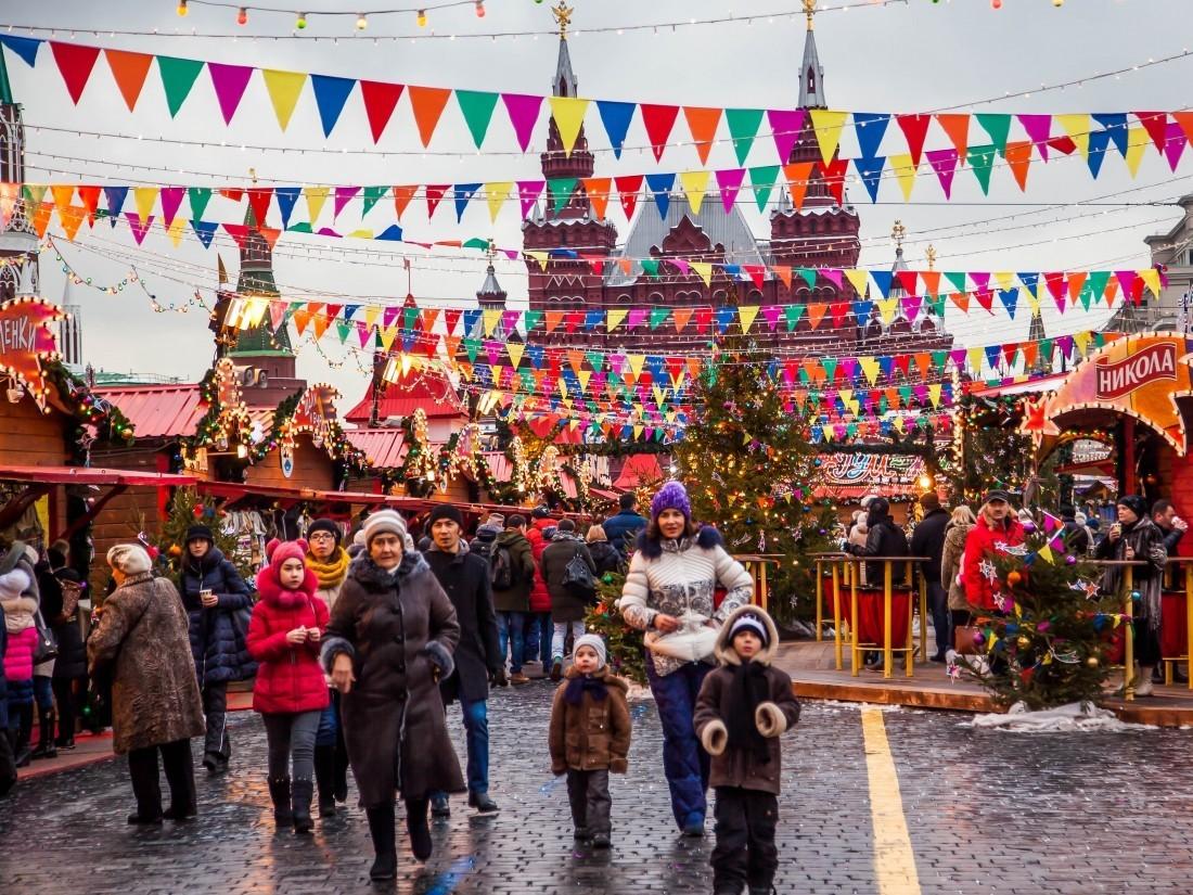 Москва вошла втоп-5 более интересных направлений зимнего туризма