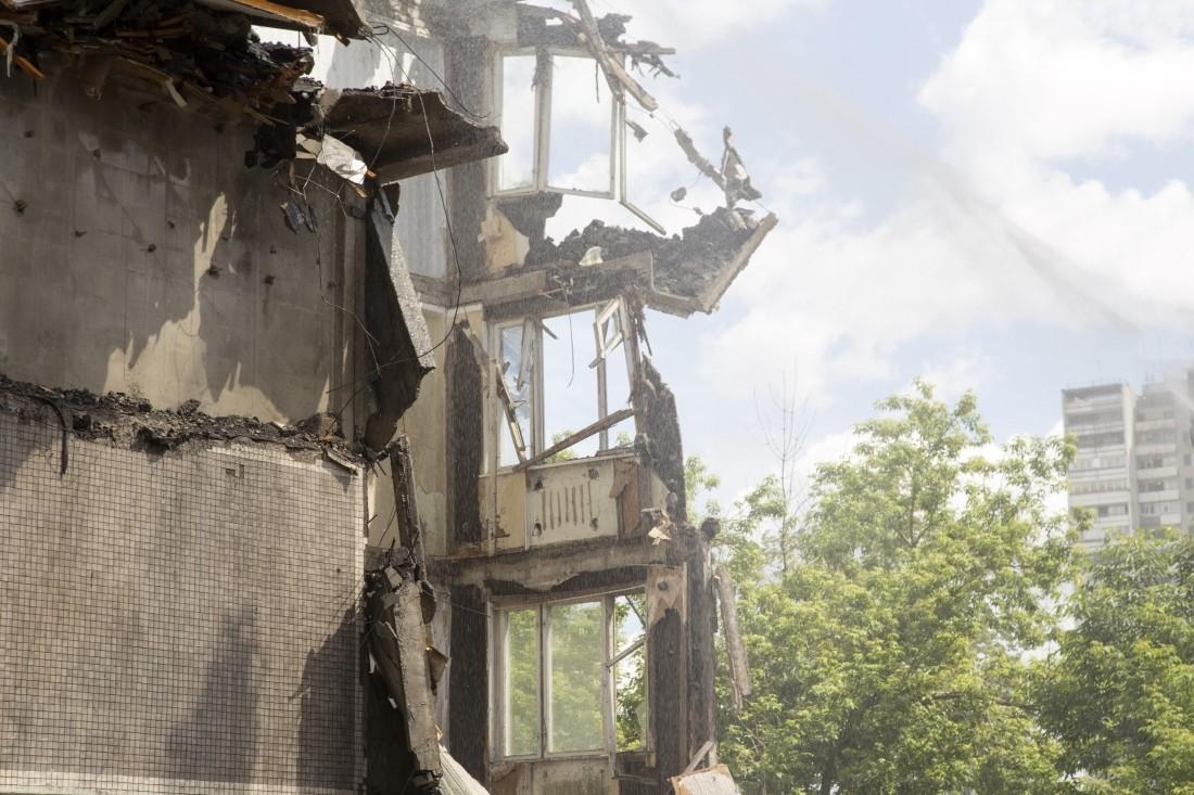 Взрыв газа произошёл вжилом доме в израильской автономной области