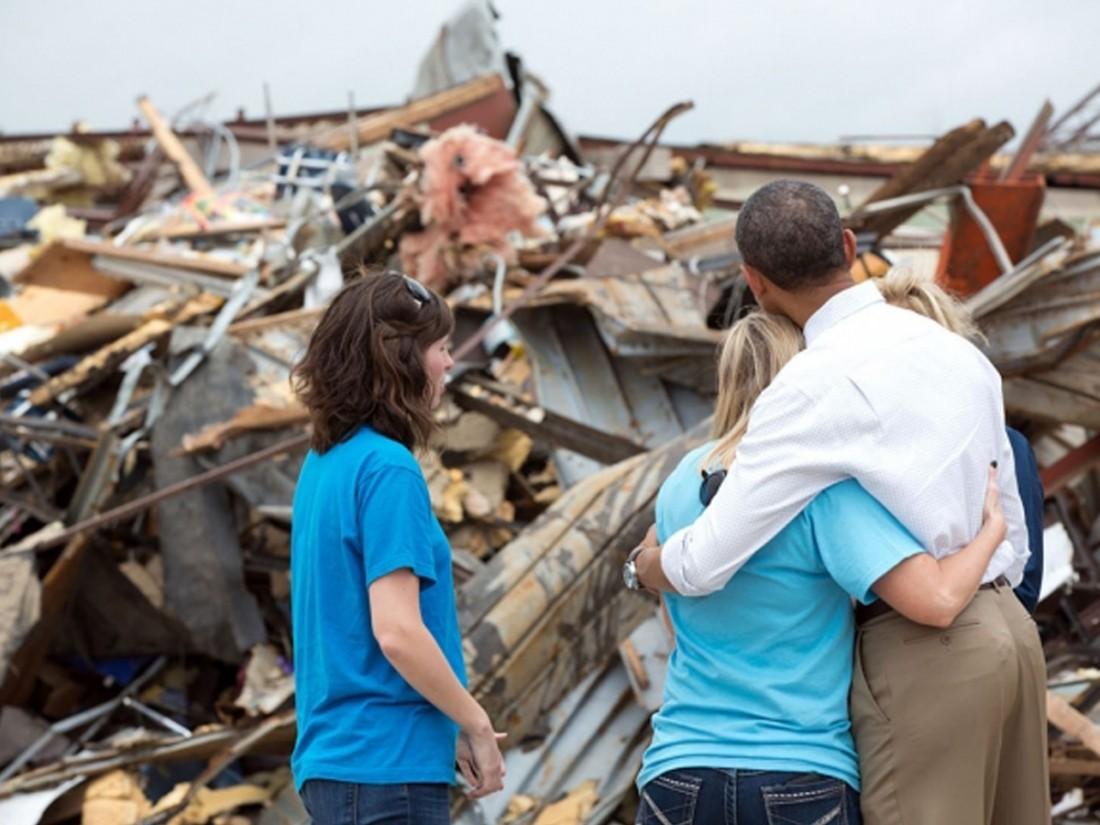 Природные бедствия нанесли рекордный вред в прошлом году