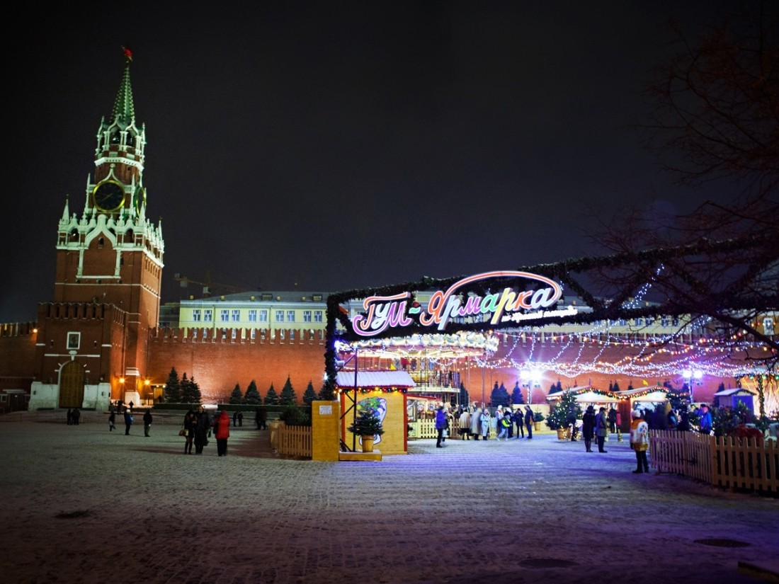 Центр столицы  перекроют на некоторое количество дней  из-за новогодней ярмарки