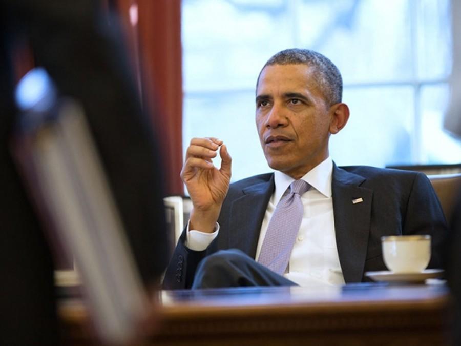 Обама дал интервью принцу Гарри
