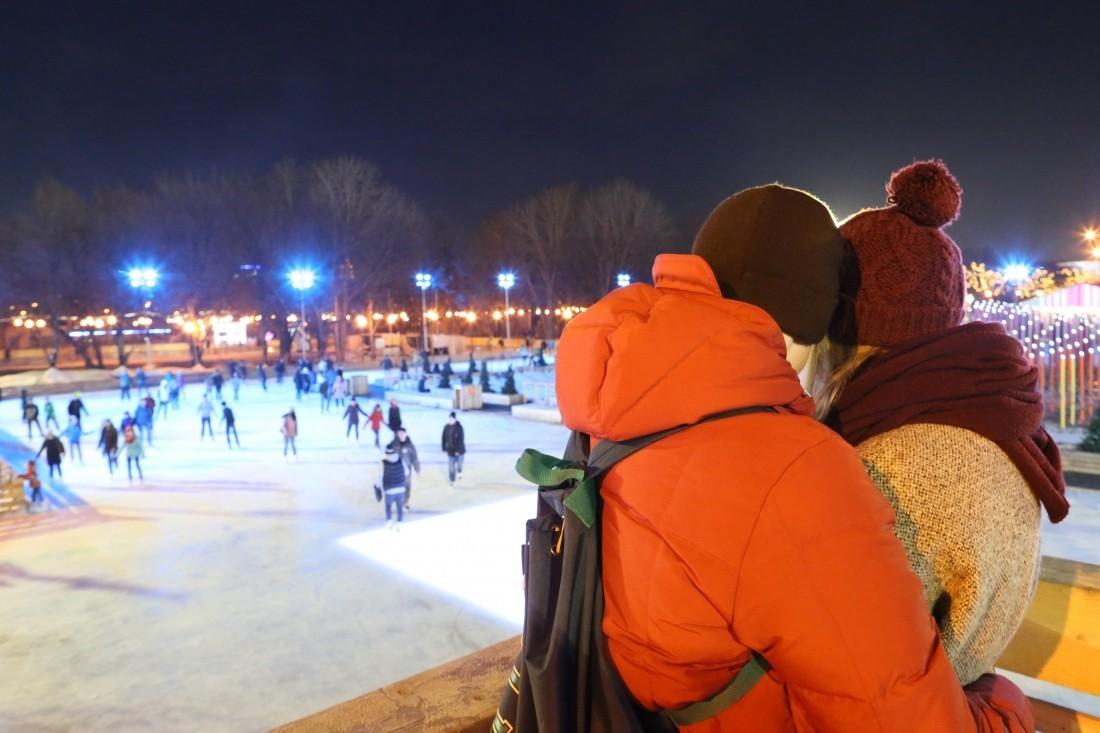 В столице  появятся неменее  тысячи катков снатуральным льдом