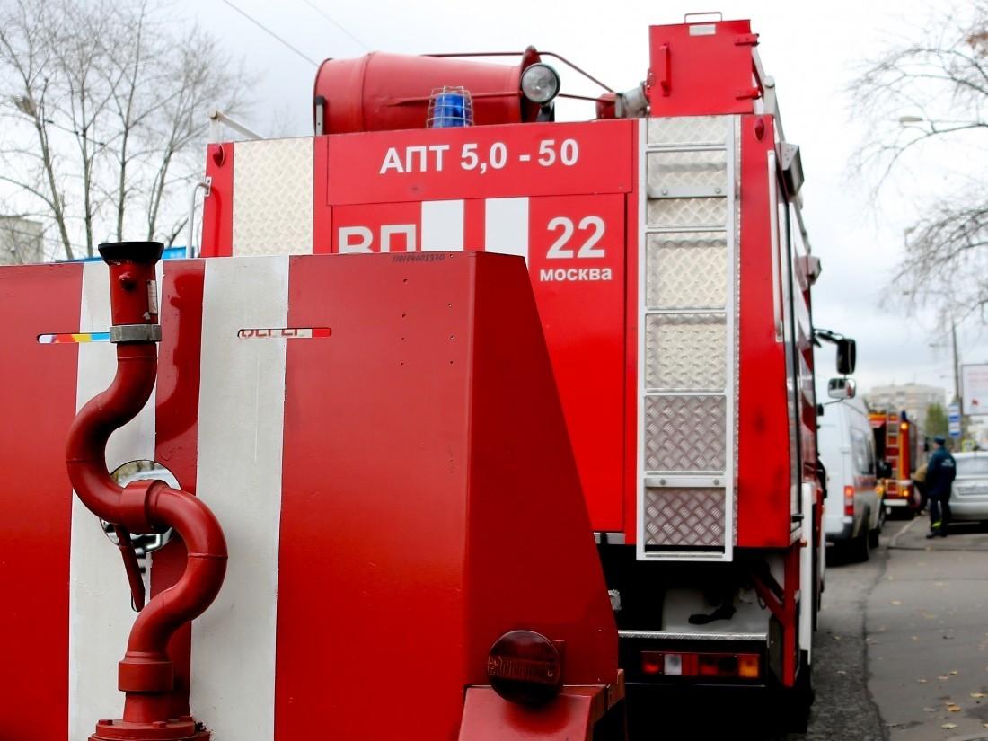 Впожаре в личном доме неподалеку от МКАД в столице умер человек