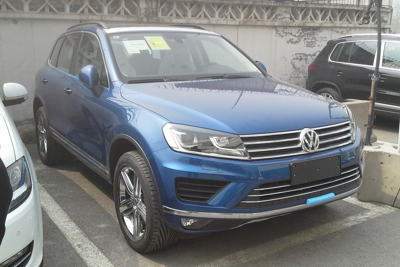 Volkswagen анонсировал премьеру нового внедорожника Touareg