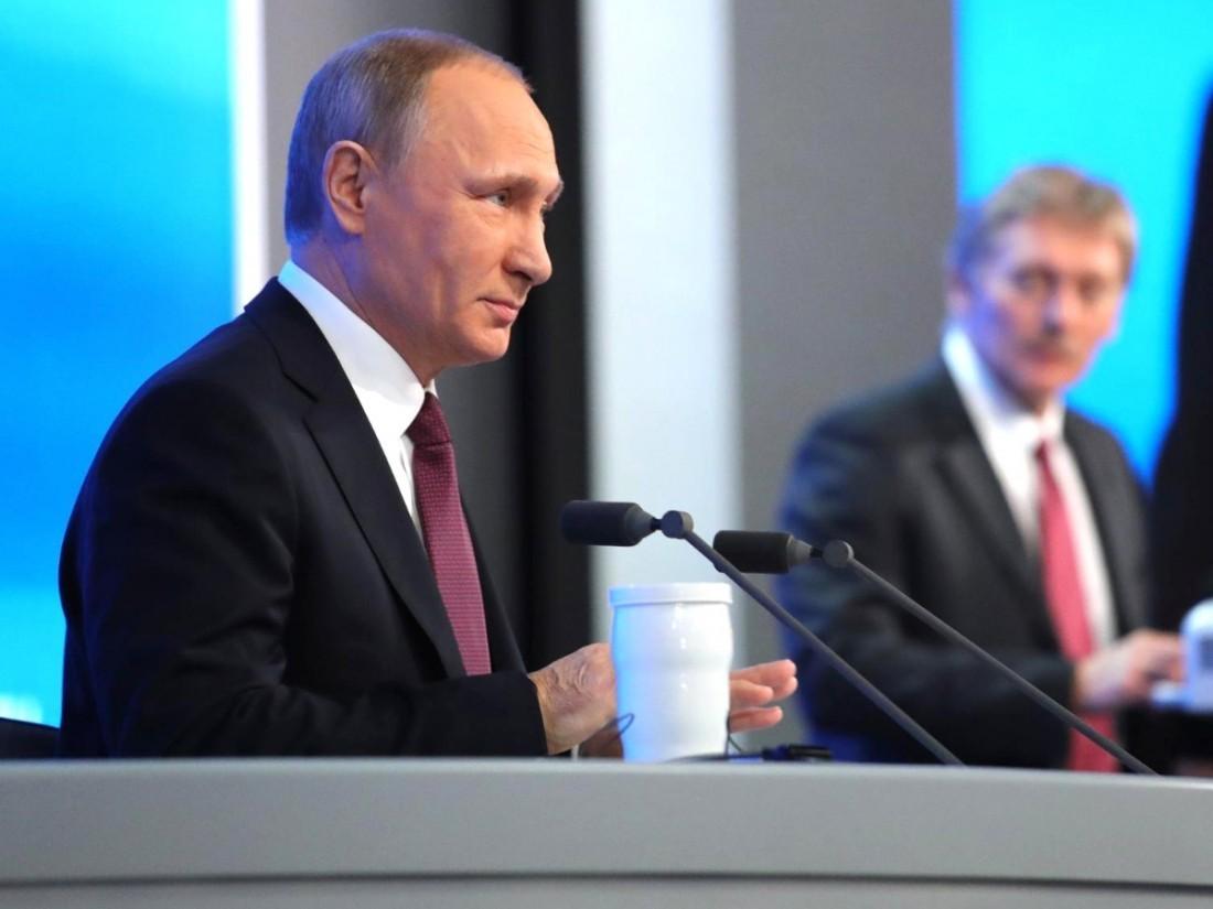 ВКремле прояснили сроки послания В. Путина Федеральному Собранию