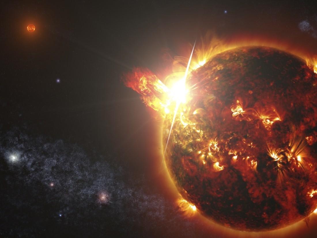Необыкновенная «подмигивающая» звезда разрушает планеты— Ученые