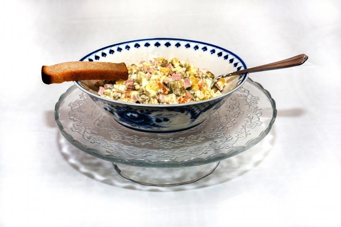 компоненты салата оливье