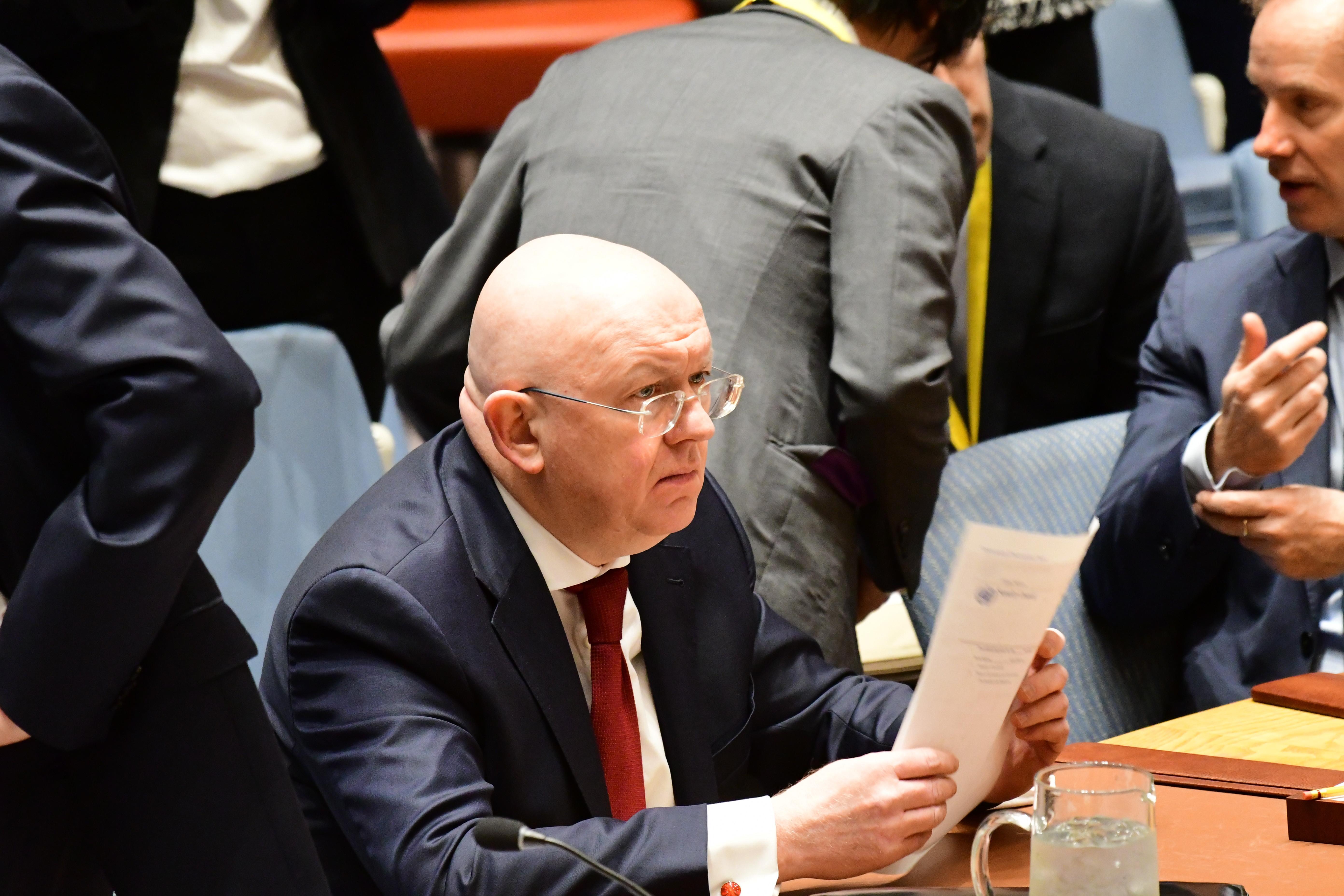 Небензя: ВСолсбери ивсирийской Думе имели место антироссийские провокации