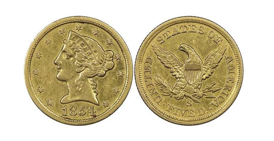 Гражданин США отыскал монету стоимостью вмиллионы долларов