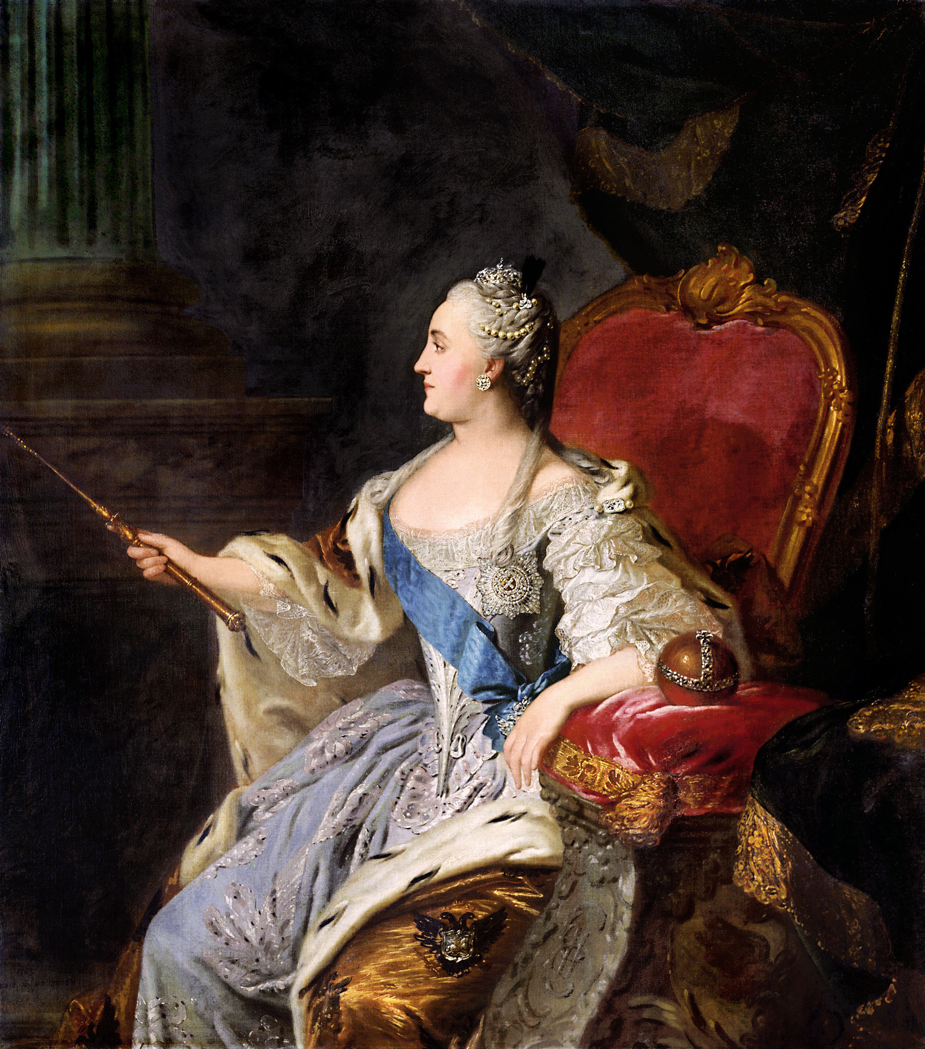 Королева екатерина 2 сексуальная жиз
