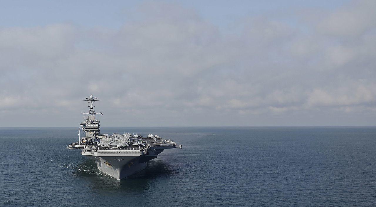 Американский авианосец Harry Truman приступил квыполнению военных задач вСредиземном море