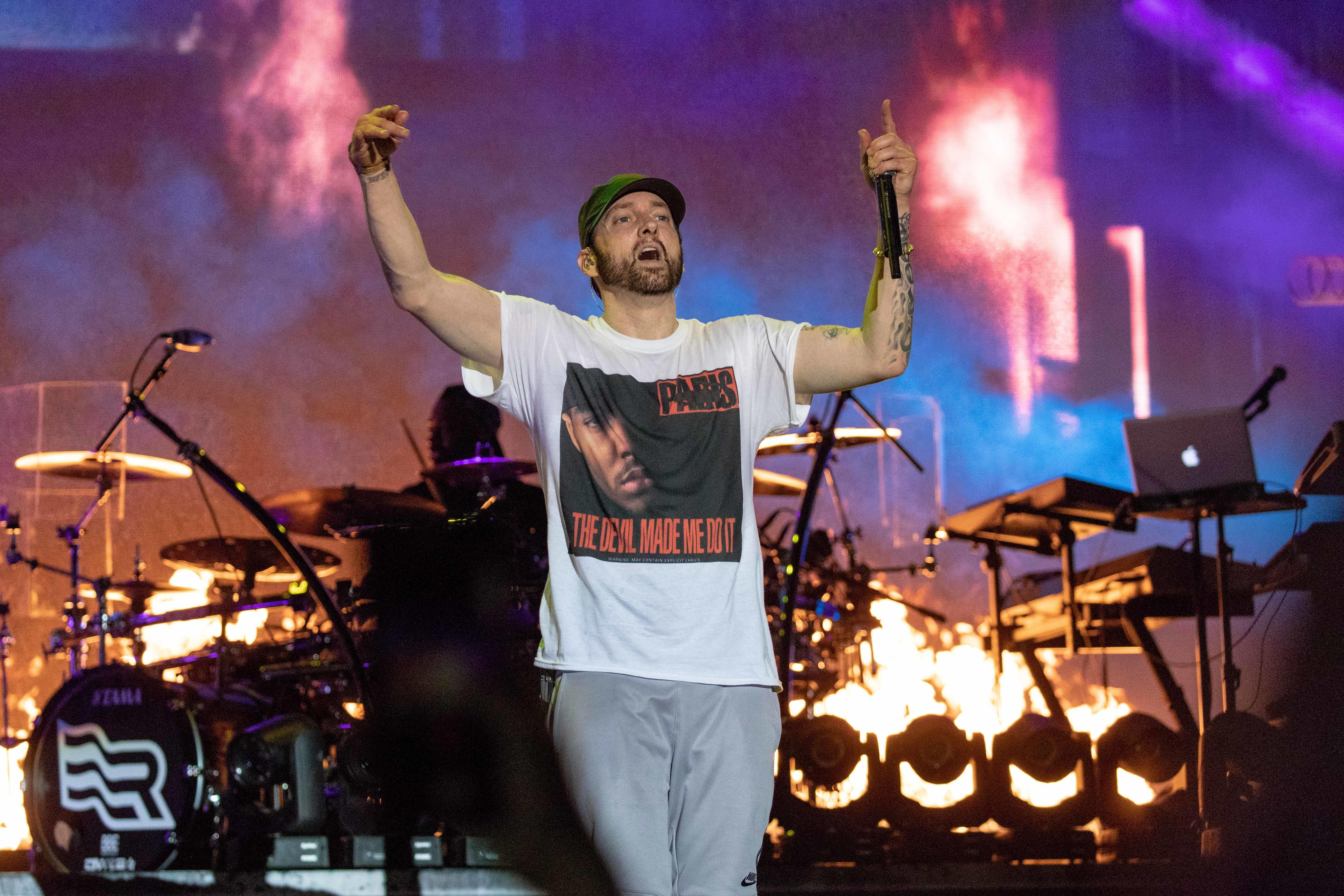 Самый быстрый: Eminem побил собственный рекорд поскорости чтения рэпа