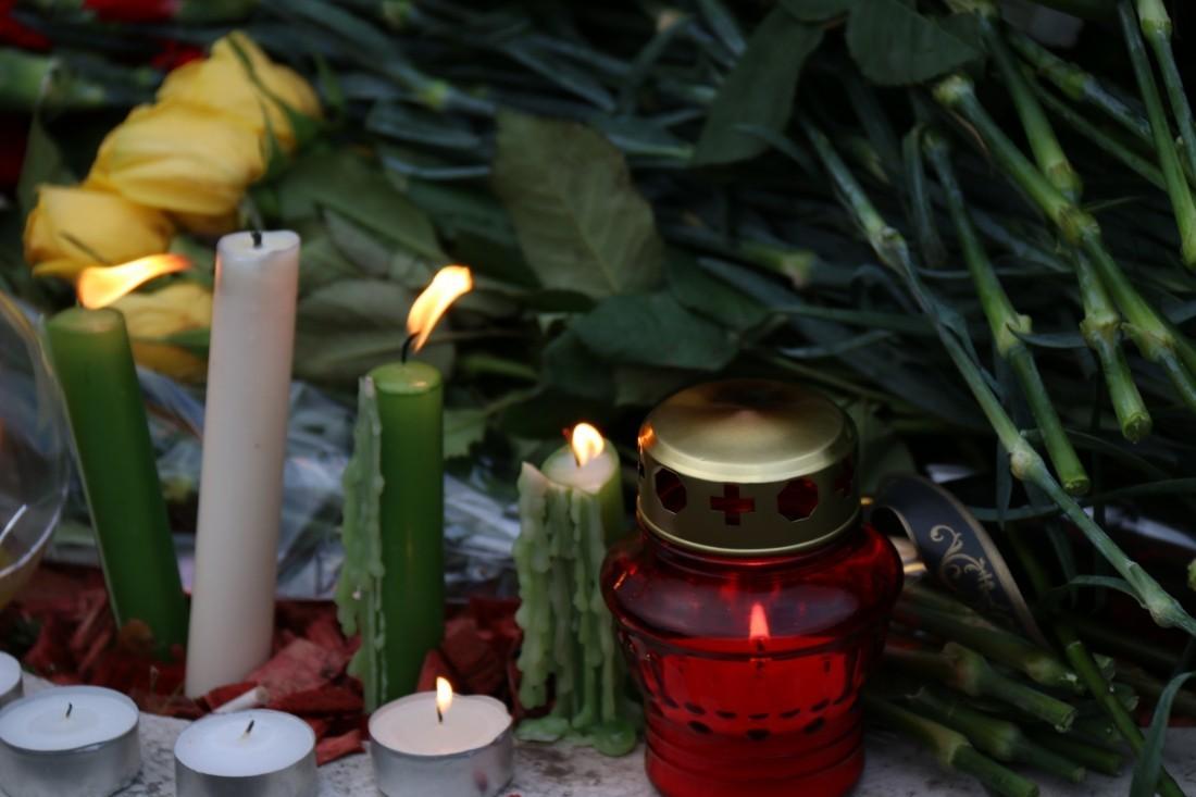 Сборная РФ пофутболу почтила память погибших вКемерове