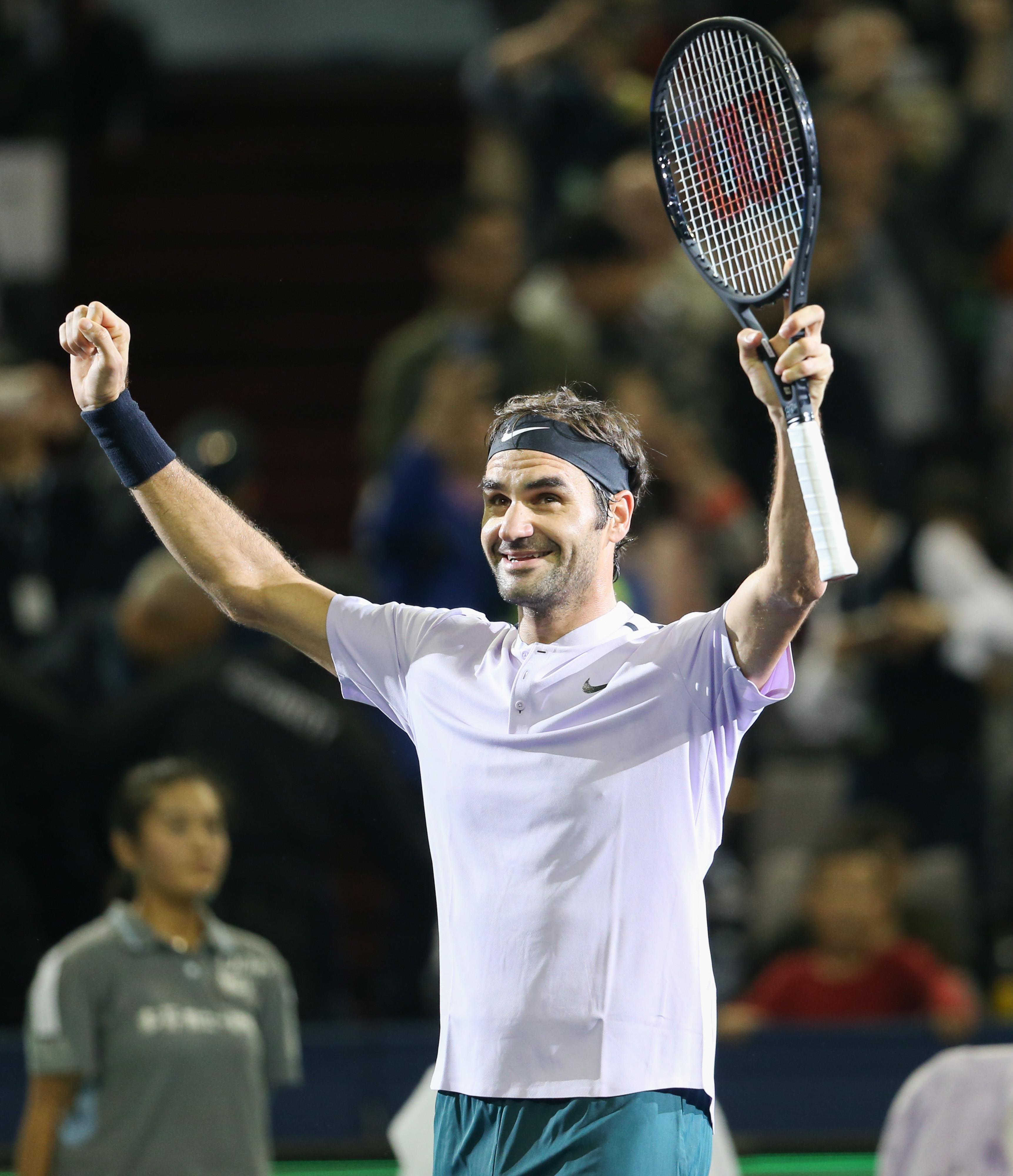 Роджер Федерер признан спортсменом года поверсии Laureus