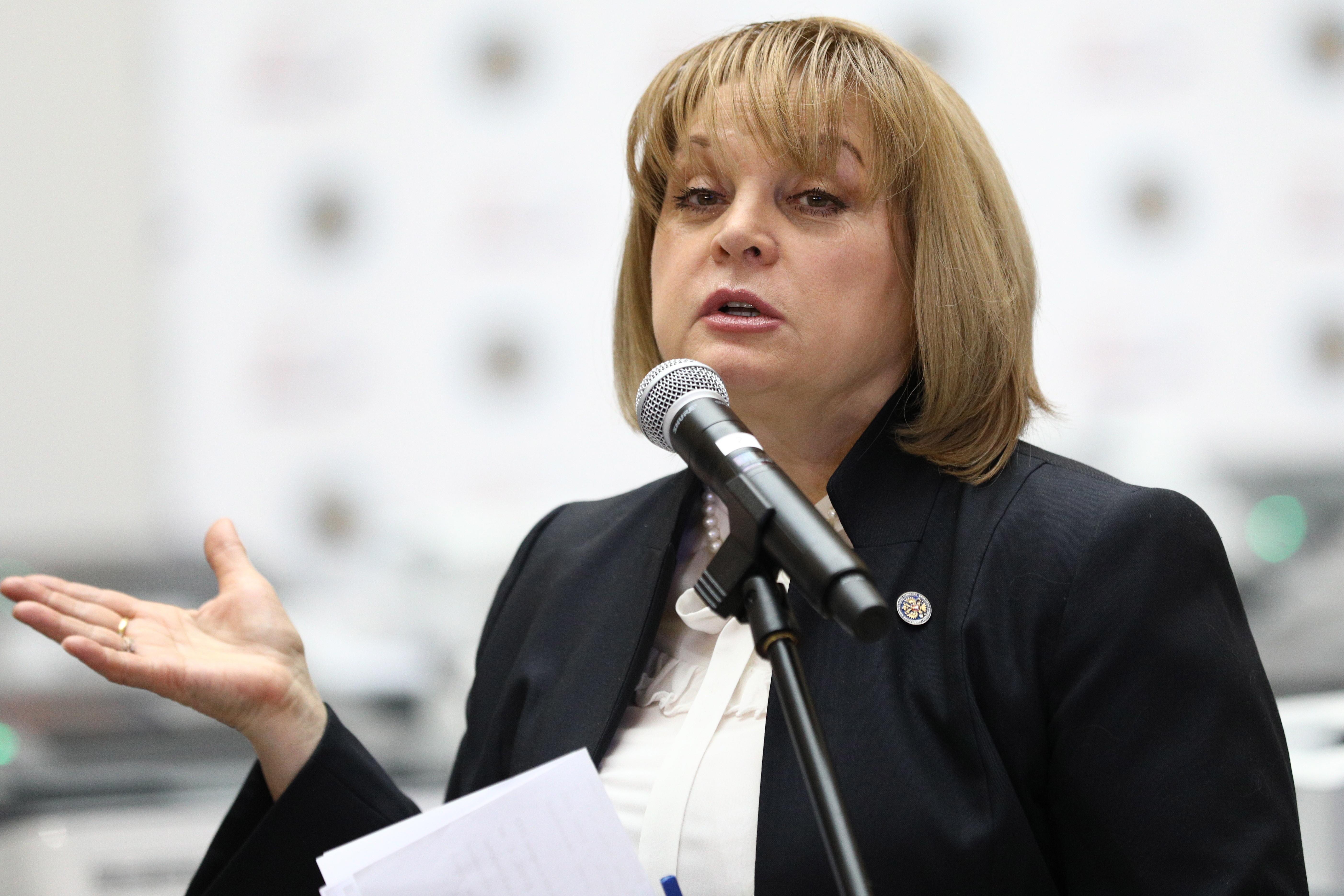Памфилова поблагодарила избирателей: Спасибо, что неравнодушны ксудьбе страны