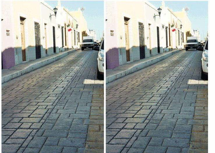 Пользователей сети озадачила оптическая иллюзия сфото улицы