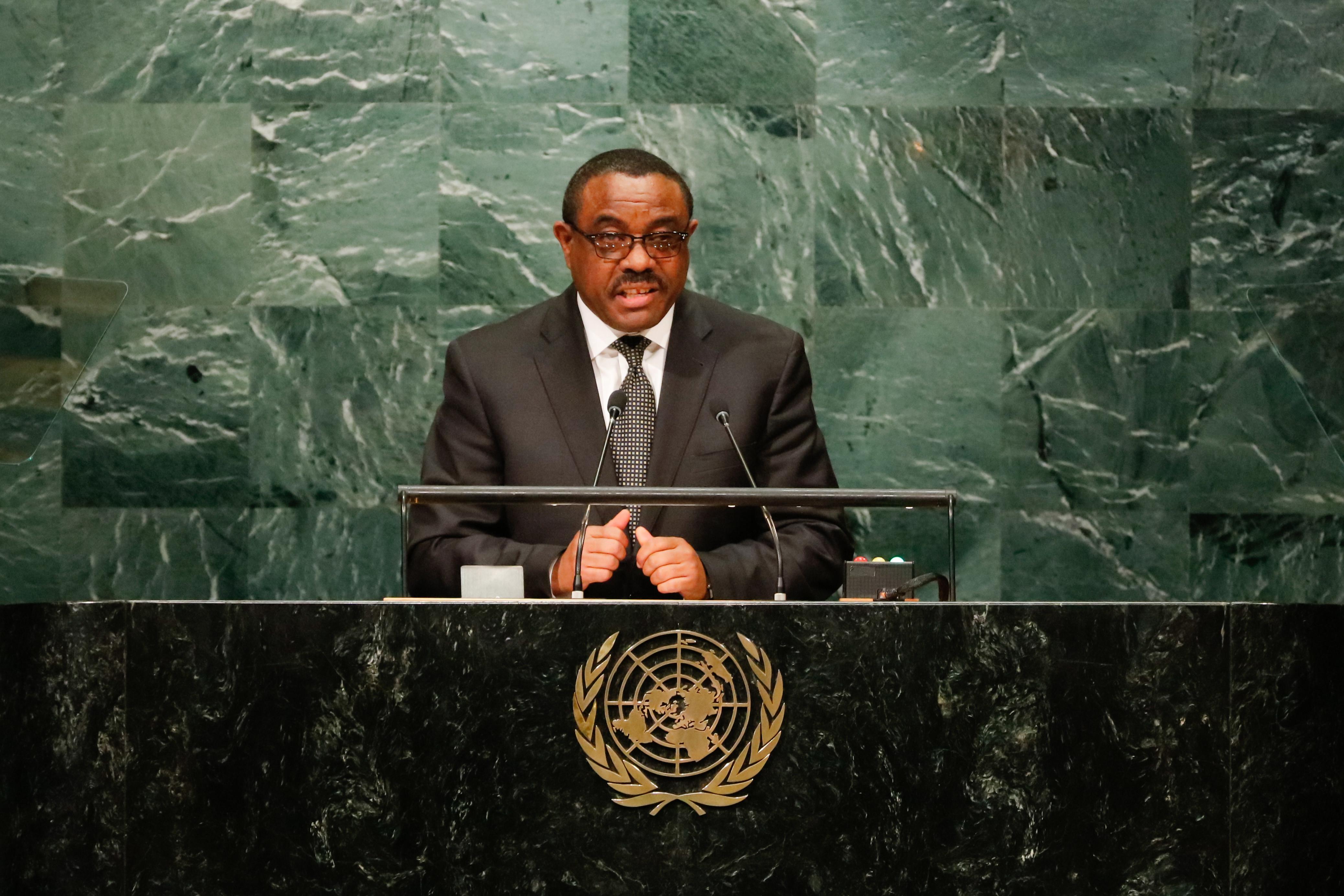 ВЭфиопии объявлен режимЧС