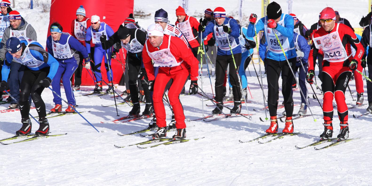 Московский этап Лыжни России-2018 состоится на 11 площадках