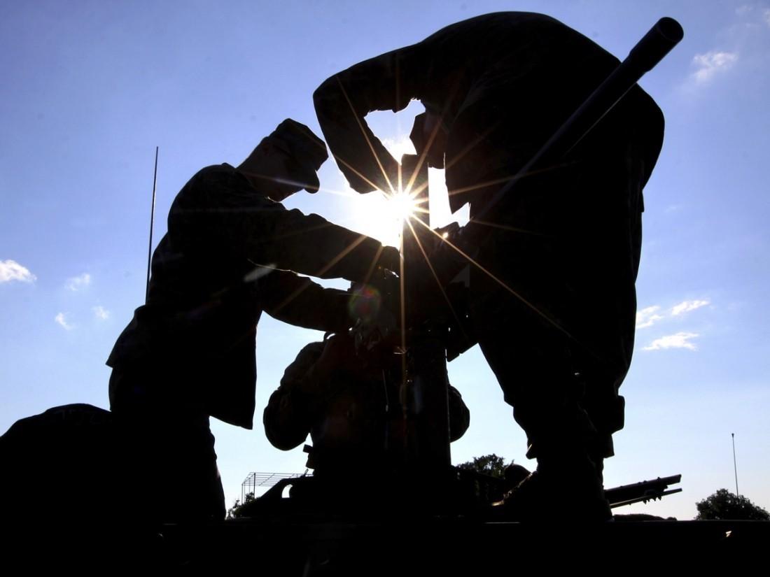 Немецкая армия сетует нанехватку палаток ибронежилетов