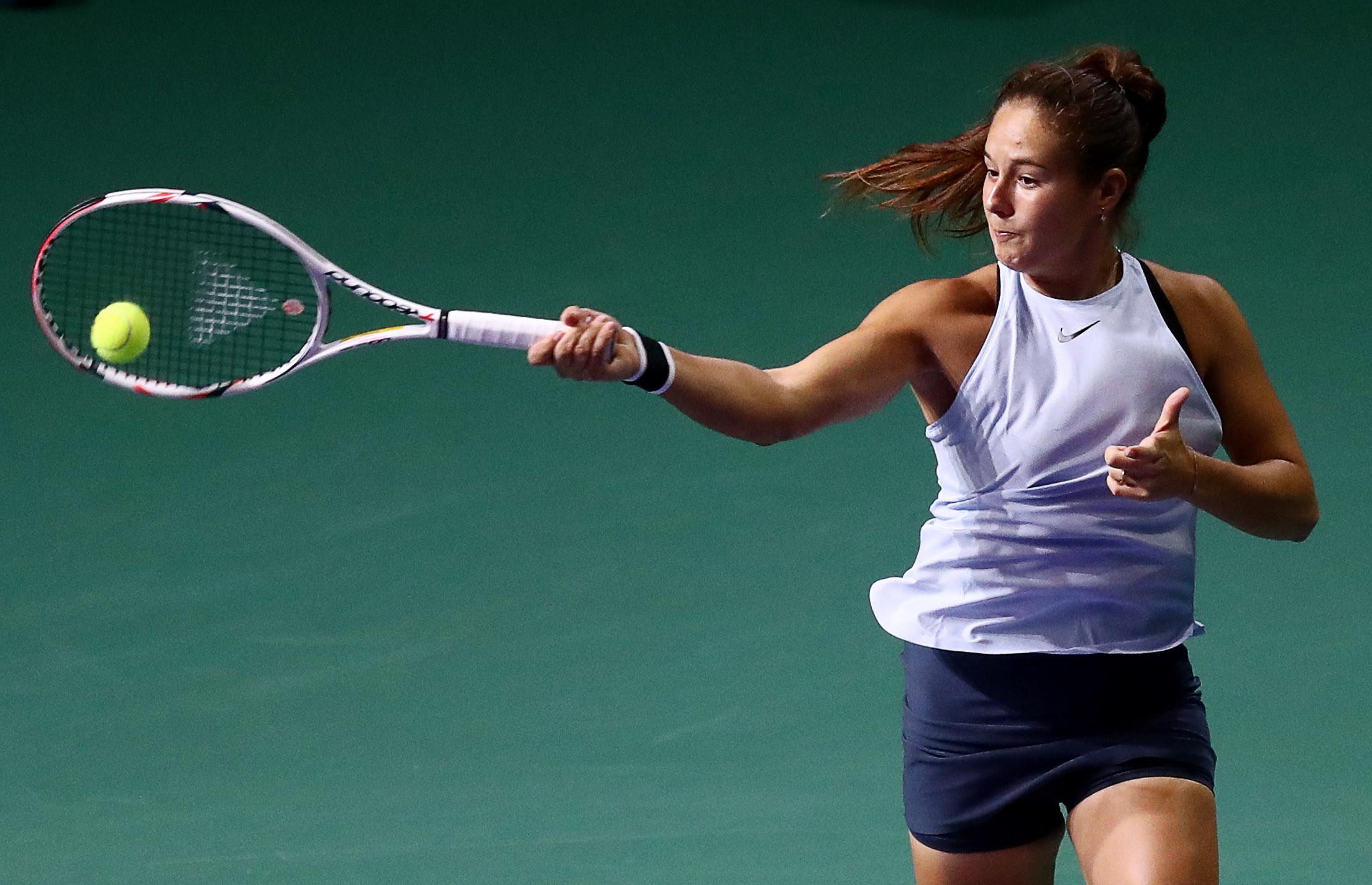 Касаткина несмогла попасть вфинал теннисного турнира вПетербурге