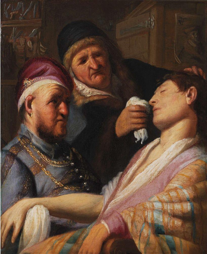 Утерянное полотно Рембрандта чуть непродали за $800