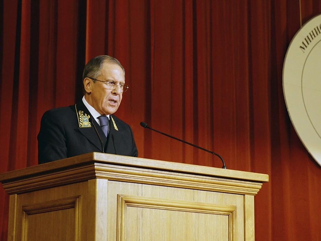 Лавров обсудил сдеМистурой подготовку к съезду нацдиалога Сирии