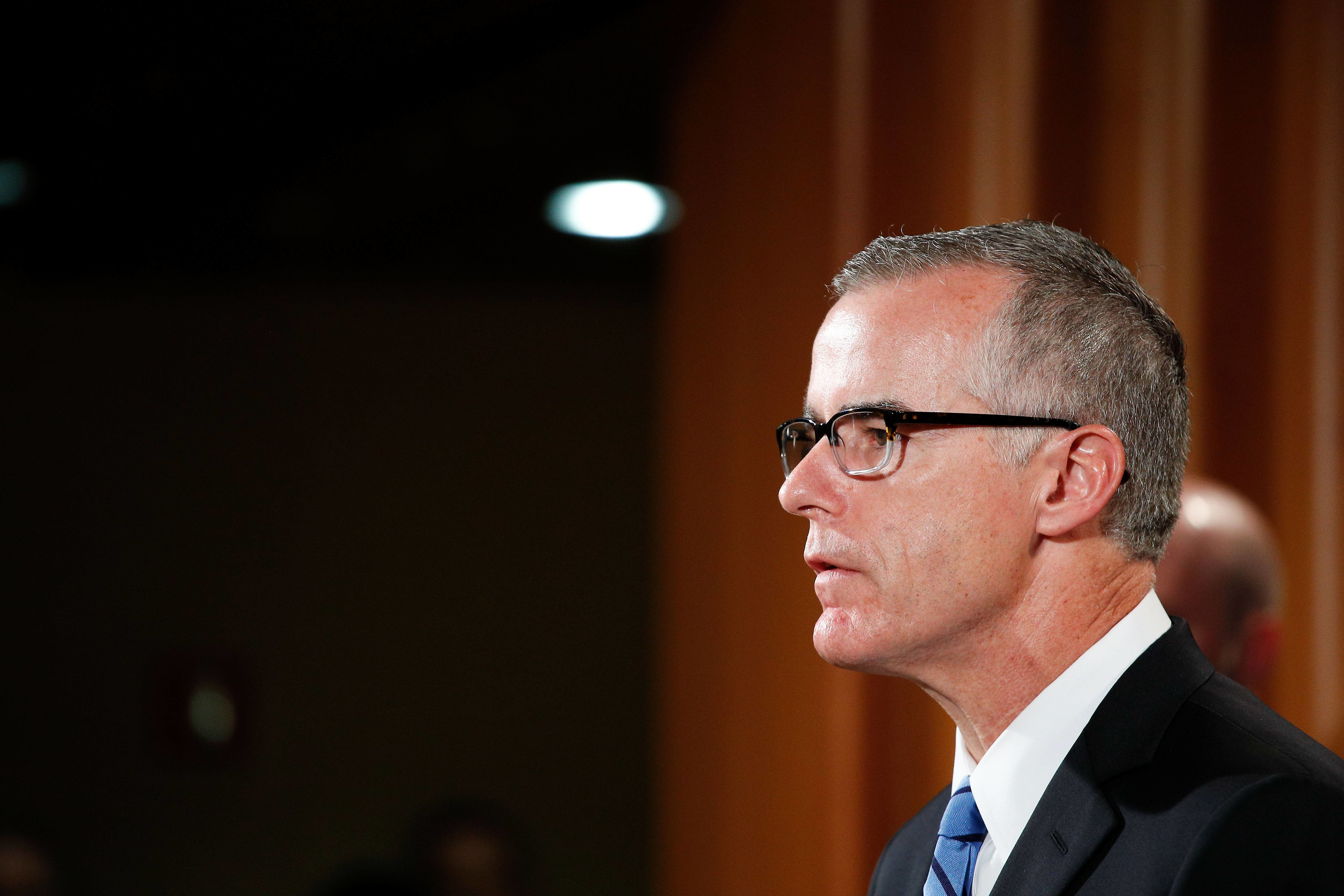 No sooner had the congressional letter landed in Sessions office than it was revealed late Thursday that Horowitz has already referred McCabe to the US