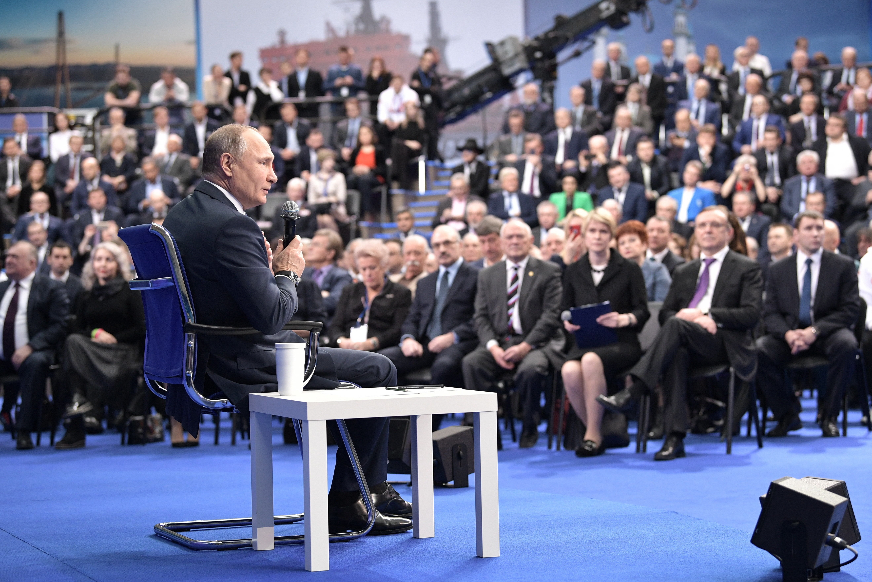 Шипулин овстрече Владимира Путина сдоверенными лицами: «Было очень серьезное общение»