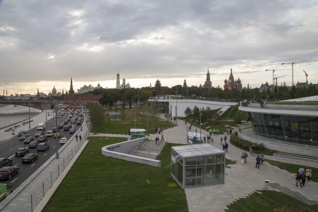 Открытие филармонии впарке «Зарядье» запланировано налето 2018-ого