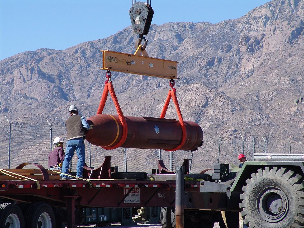 ВСША модернизирована крупнейшая неядерная бомба