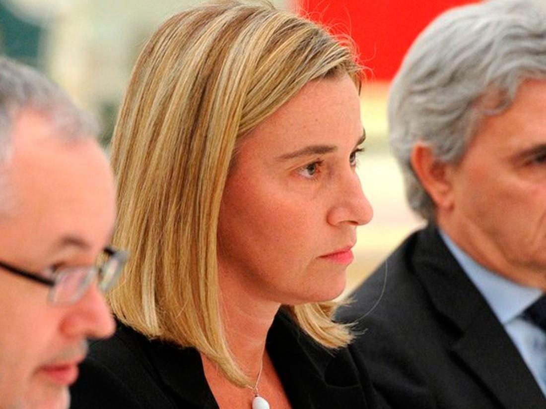 Могерини считает неприемлемым сохранение американского эмбарго вотношении Кубы