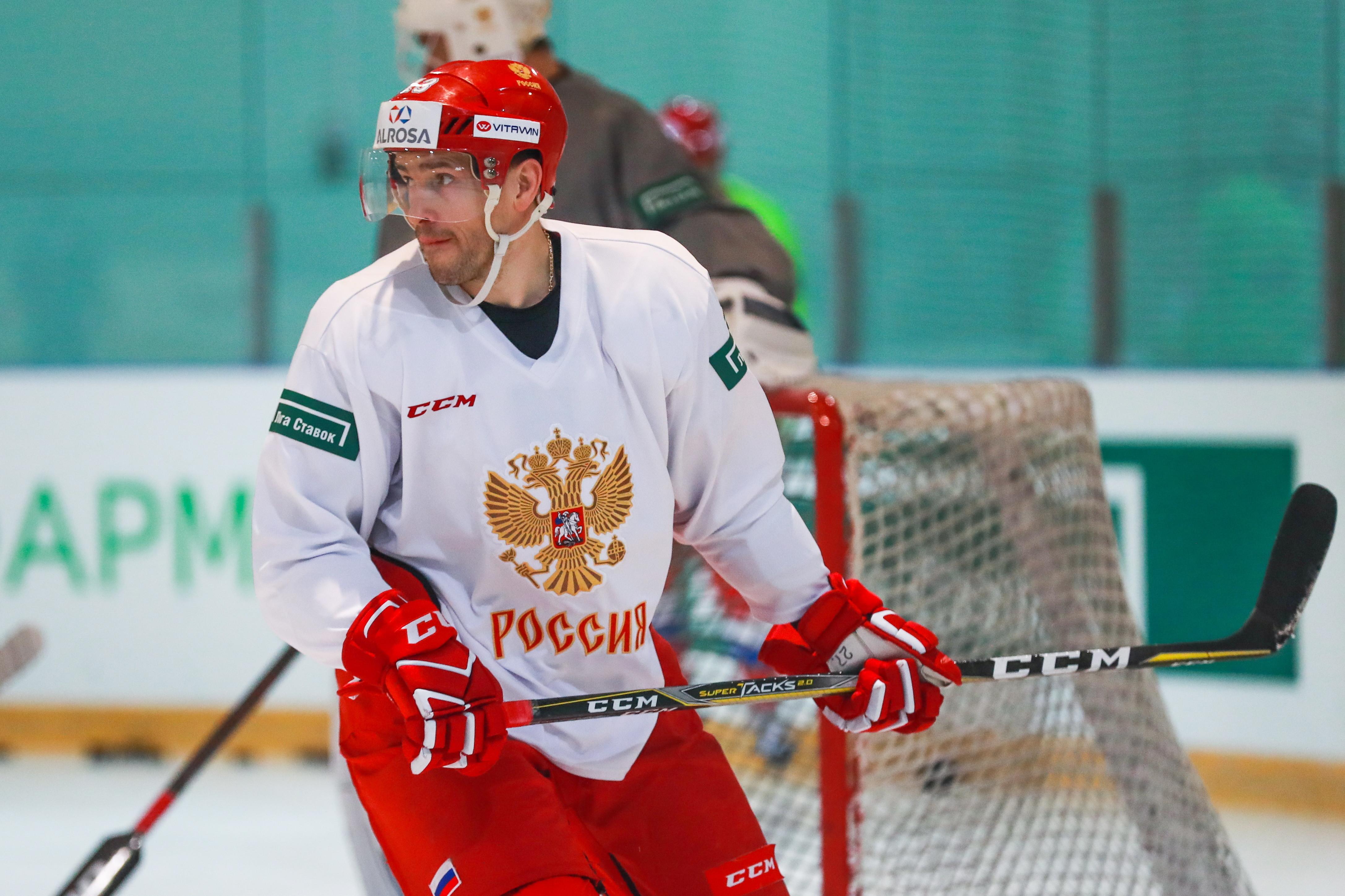 Павел Дацюк стал капитаном олимпийской сборной РФ по хоккею