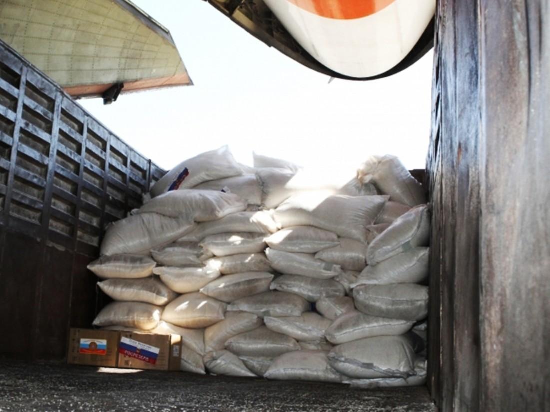 ВИнгушетии неизвестный предприниматель купил нуждающимся людям 50 тонн продуктов