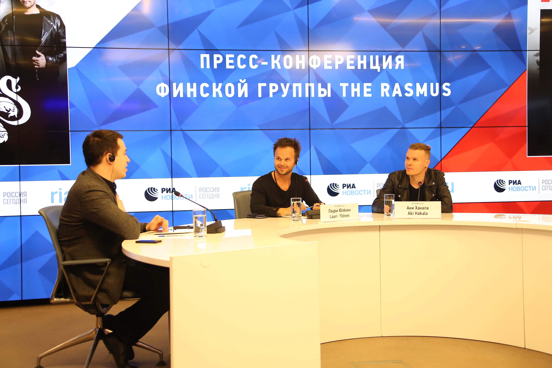 Солист The Rasmus поведал о воздействии русских песен натворчество группы