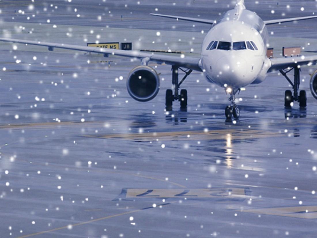 Неменее 30 рейсов задержано иотменено встоличных аэропортах