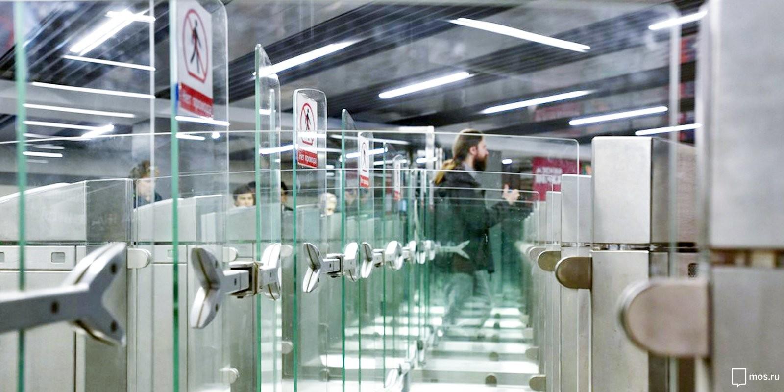 Северный вестибюль станции метро «Каховская» закрыли наремонт до3августа