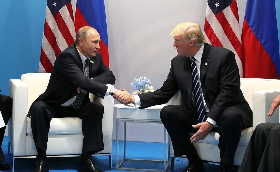 Трамп: Путин немой противник. Другли онмне? Нет, недруг