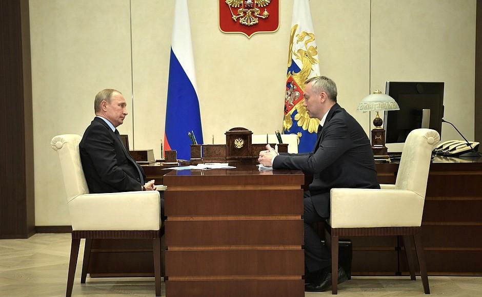 «Необходимо вместе с руководством уделить нужное внимание развитию Академгородка»— Владимир Путин