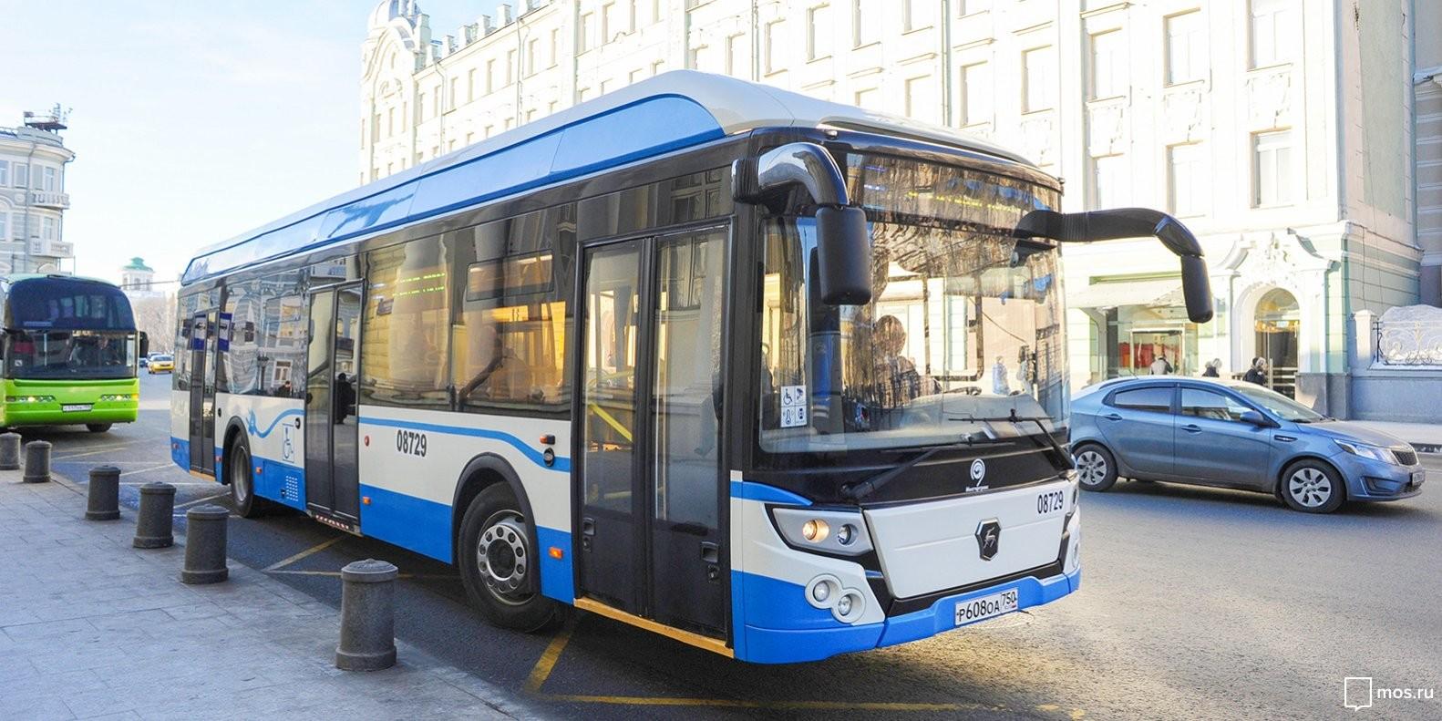 Электробусы появятся наназемных маршрутах столицы к 2025