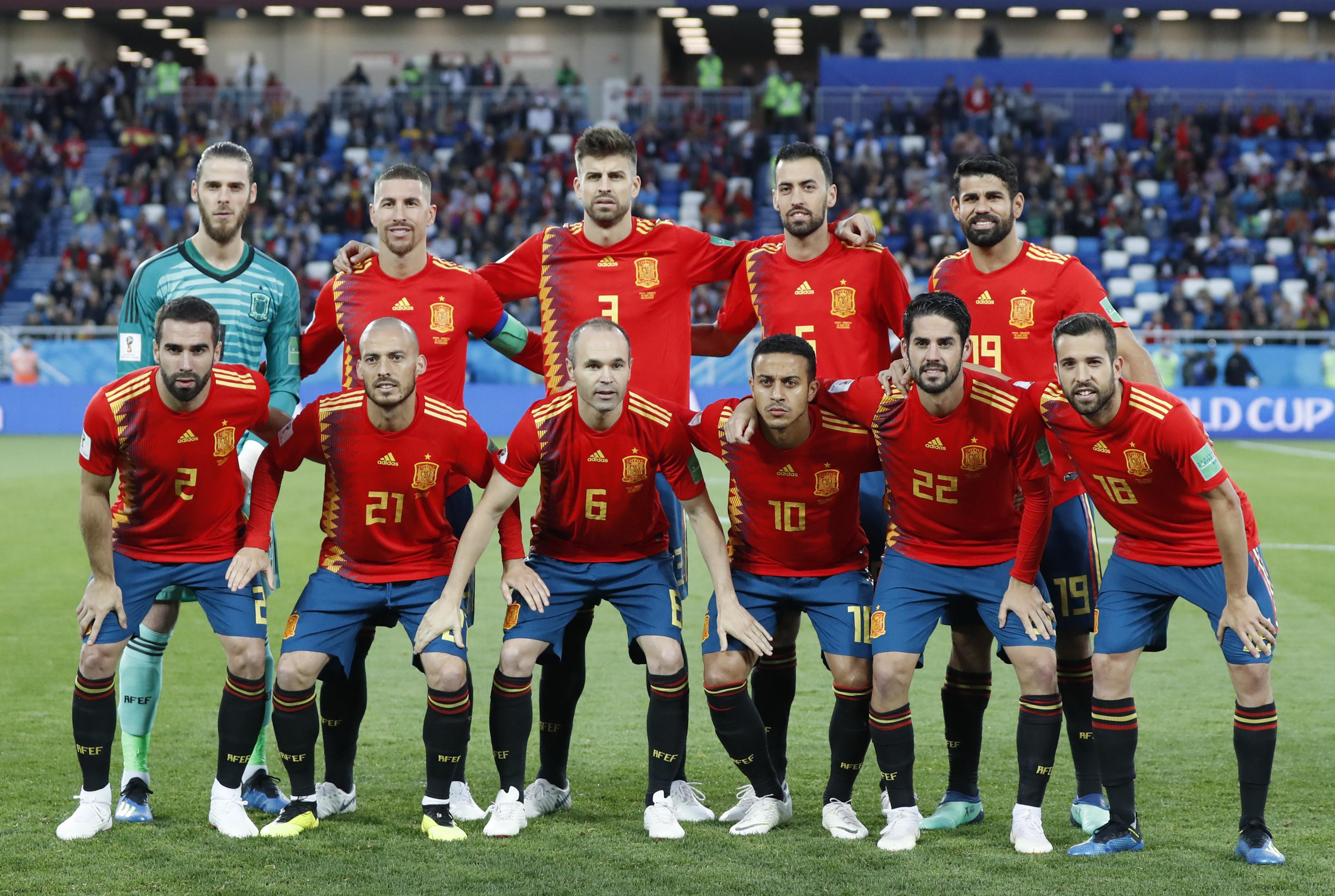 Испания футбольная сборная