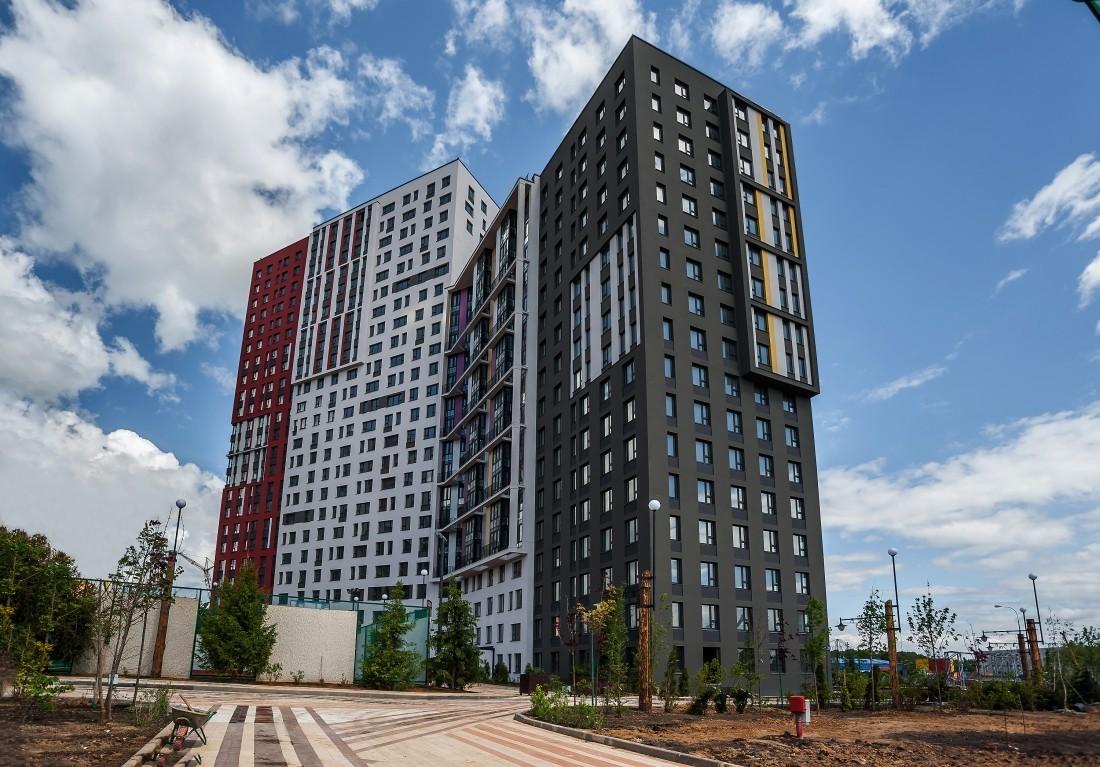 Квартиры бизнес-класса в российской столице стали популярнее массового жилья