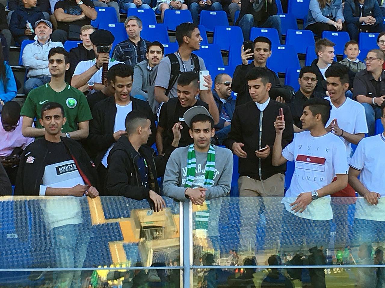 Саудовская Аравия провела открытую тренировку на «Петровском» (ФОТО)