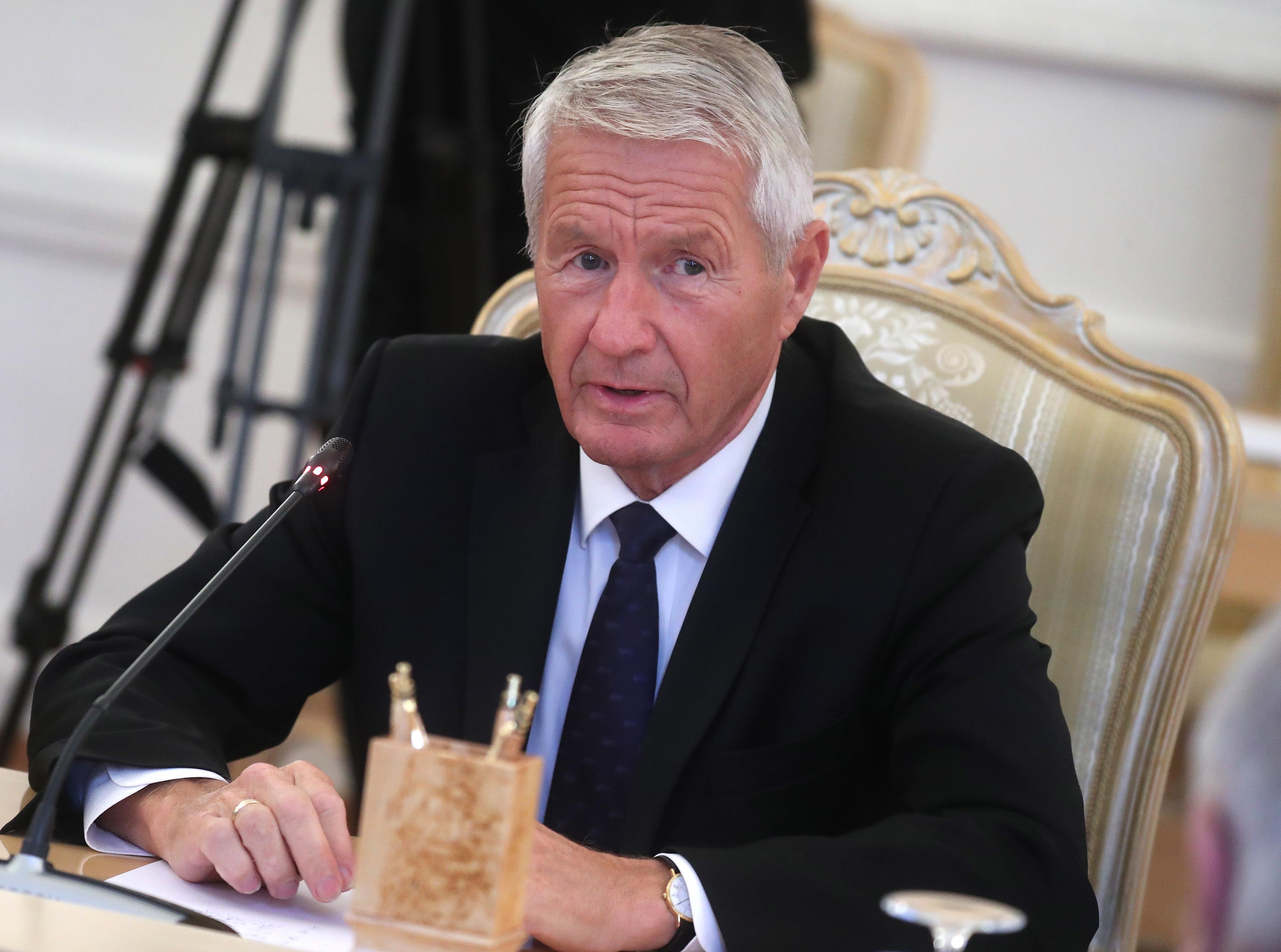 Генеральный секретарь Совета Европы поздравил В. Путина спобедой навыборах