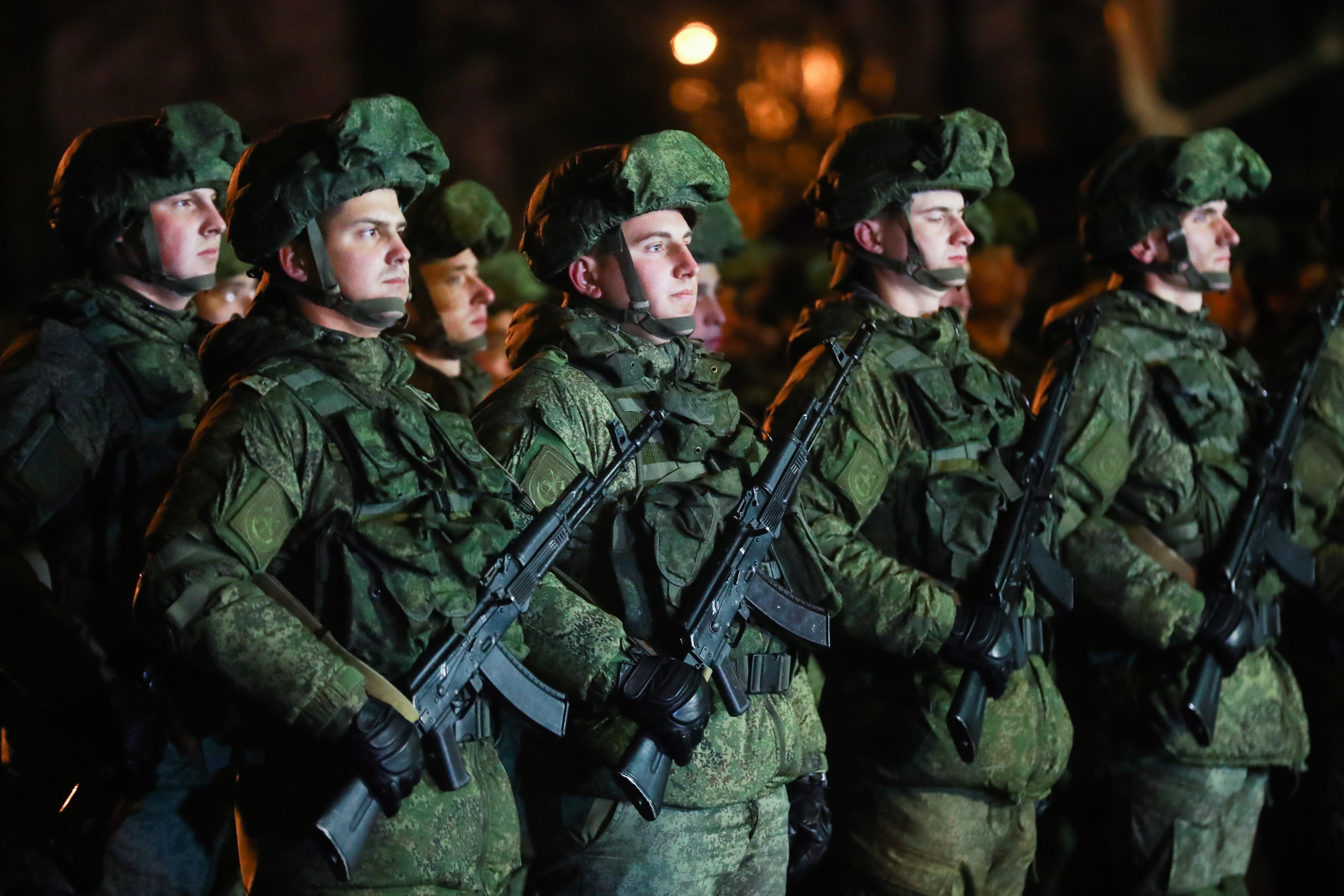 ВСирии 100% военнослужащих проголосовали за Владимира Путина